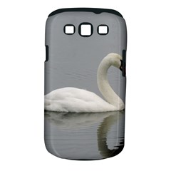 Swimming White Swan Samsung Galaxy S Iii Classic Hardshell Case (pc+silicone)
