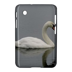 Swimming White Swan Samsung Galaxy Tab 2 (7 ) P3100 Hardshell Case  by picsaspassion
