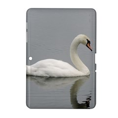Swimming White Swan Samsung Galaxy Tab 2 (10 1 ) P5100 Hardshell Case  by picsaspassion