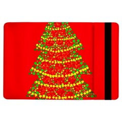 Sparkling Christmas Tree   Red Ipad Air Flip by Valentinaart