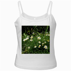 Wild Daisy Summer Flowers Ladies Camisoles by picsaspassion