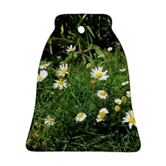 Wild Daisy Summer Flowers Bell Ornament (2 Sides) by picsaspassion