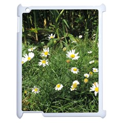 Wild Daisy Summer Flowers Apple Ipad 2 Case (white) by picsaspassion