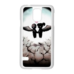 The World Comes Crashing Down Samsung Galaxy S5 Case (white) by lvbart