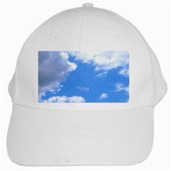 Summer Clouds And Blue Sky White Cap