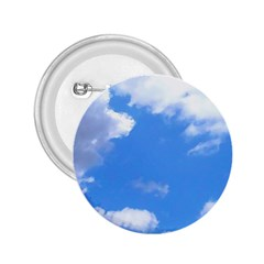Summer Clouds And Blue Sky 2 25  Buttons