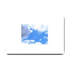 Summer Clouds And Blue Sky Small Doormat