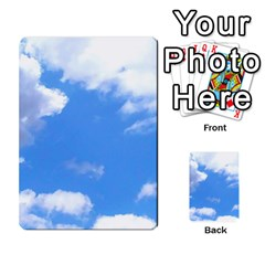 Summer Clouds And Blue Sky Multi Purpose Cards (rectangle)