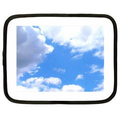 Summer Clouds And Blue Sky Netbook Case (large)
