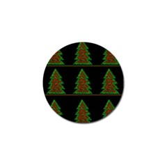 Christmas Trees Pattern Golf Ball Marker (10 Pack) by Valentinaart