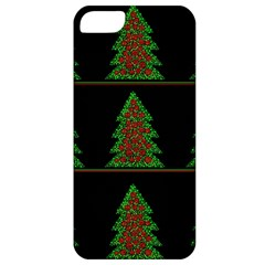 Christmas Trees Pattern Apple Iphone 5 Classic Hardshell Case by Valentinaart