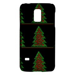 Christmas Trees Pattern Galaxy S5 Mini by Valentinaart