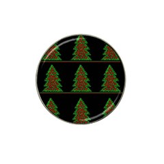 Christmas Trees Pattern Hat Clip Ball Marker by Valentinaart