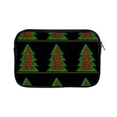 Christmas Trees Pattern Apple Ipad Mini Zipper Cases by Valentinaart