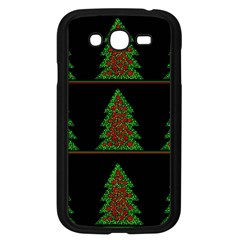 Christmas Trees Pattern Samsung Galaxy Grand Duos I9082 Case (black) by Valentinaart