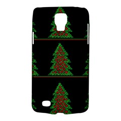 Christmas Trees Pattern Galaxy S4 Active by Valentinaart
