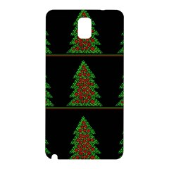 Christmas Trees Pattern Samsung Galaxy Note 3 N9005 Hardshell Back Case