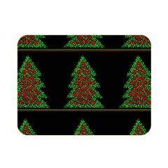 Christmas Trees Pattern Double Sided Flano Blanket (mini)  by Valentinaart