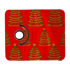 Christmas Trees Red Pattern Samsung Galaxy S  Iii Flip 360 Case by Valentinaart