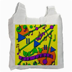 Music Recycle Bag (one Side)