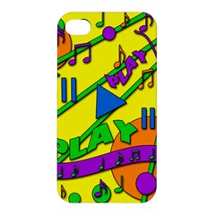 Music Apple Iphone 4/4s Hardshell Case by Valentinaart