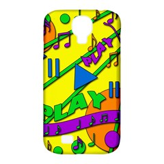 Music Samsung Galaxy S4 Classic Hardshell Case (pc+silicone) by Valentinaart