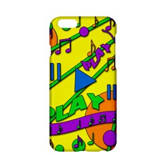 Music Apple Iphone 6/6s Hardshell Case by Valentinaart
