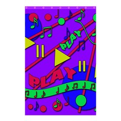 Music 2 Shower Curtain 48  X 72  (small)  by Valentinaart