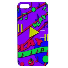 Music 2 Apple Iphone 5 Hardshell Case With Stand by Valentinaart