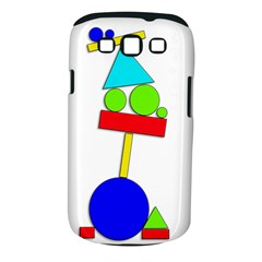 Balance  Samsung Galaxy S Iii Classic Hardshell Case (pc+silicone) by Valentinaart