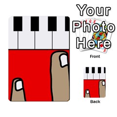 Piano  Multi Purpose Cards (rectangle)  by Valentinaart
