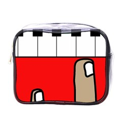 Piano  Mini Toiletries Bags by Valentinaart