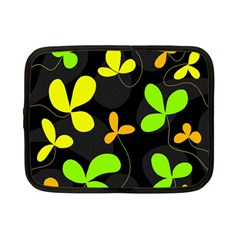 Floral Design Netbook Case (small)  by Valentinaart