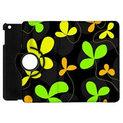 Floral Design Apple Ipad Mini Flip 360 Case by Valentinaart
