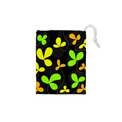 Floral Design Drawstring Pouches (xs)