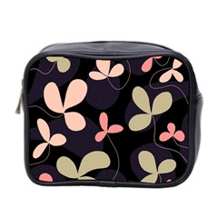 Elegant Floral Design Mini Toiletries Bag 2 Side by Valentinaart
