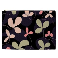 Elegant Floral Design Cosmetic Bag (xxl)  by Valentinaart