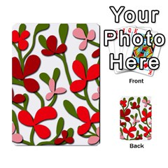 Floral Tree Multi Purpose Cards (rectangle)