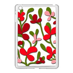 Floral Tree Apple Ipad Mini Case (white) by Valentinaart