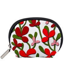 Floral Tree Accessory Pouches (small)