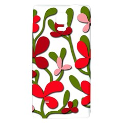 Floral Tree Galaxy Note 4 Back Case