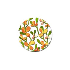 Decorative Floral Tree Golf Ball Marker (10 Pack)