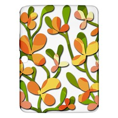 Decorative Floral Tree Samsung Galaxy Tab 3 (10 1 ) P5200 Hardshell Case  by Valentinaart
