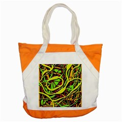Snake Bush Accent Tote Bag by Valentinaart