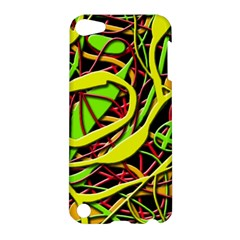 Snake Bush Apple Ipod Touch 5 Hardshell Case by Valentinaart