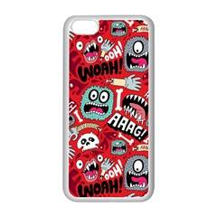 Agghh Pattern Apple Iphone 5c Seamless Case (white)