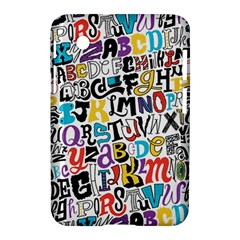 Alpha Pattern Samsung Galaxy Tab 2 (7 ) P3100 Hardshell Case  by AnjaniArt