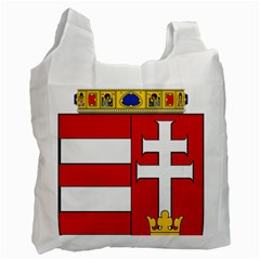 Medieval Coat Of Arms Of Hungary  Recycle Bag (one Side) by abbeyz71