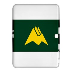 Flag Of Biei, Hokkaido, Japan Samsung Galaxy Tab 4 (10 1 ) Hardshell Case  by abbeyz71