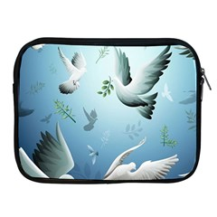 Animated Nature Wallpaper Animated Bird Apple Ipad 2/3/4 Zipper Cases